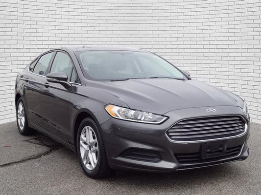 2016 Ford Fusion Se In St Joseph Mo Rolling Hills Toyota